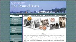 thumbnail of Round Barn website